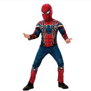 Iron Spider Man Costume size L  (10-12)